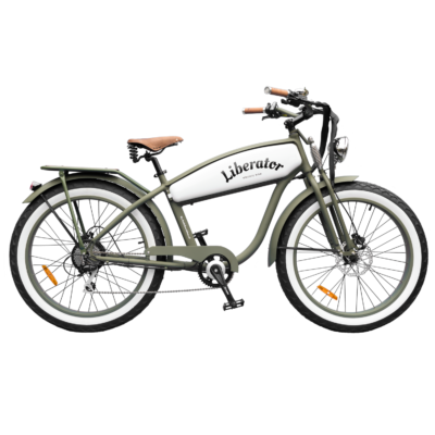 Liberator Retro Electric Fatbike - by Fatbikes4fun.nL