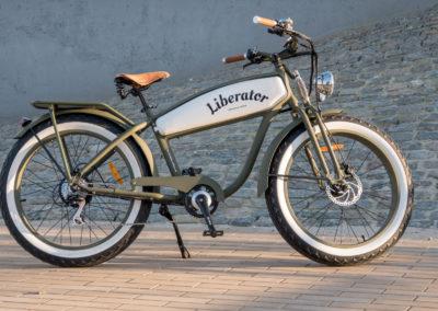 Liberator Retro Electric Fatbike - by Fatbikes4fun.nL