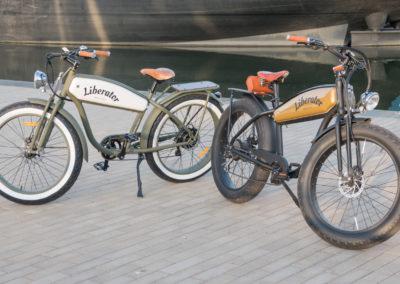 Liberator Retro Electric Fatbikes standaard en custom made - by Fatbikes4fun.nL