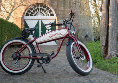 Liberator Retro Electric Fatbikes custom made - by Fatbikes4fun.nL