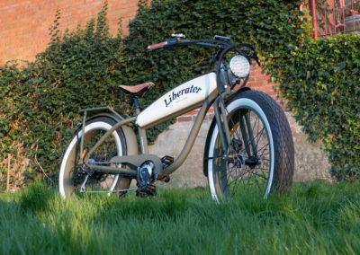 Liberator Retro Electric Fatbike custom made - by Fatbikes4fun.nL