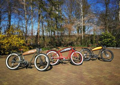 Diverse uitvoeringen Retro Electric Fatbikes by Fatbikes4fun.nL